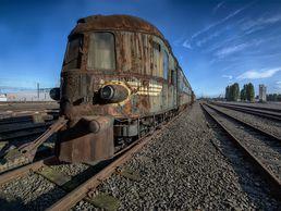 L'Orient Express abandonné
