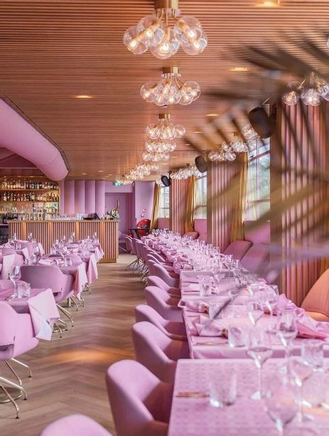 Mama Kelly le restaurant rose d'Amsterdam