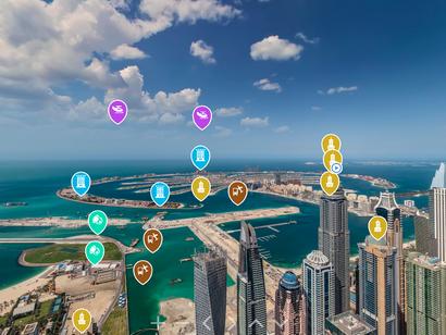 Une visite virtuelle à 360° de Dubaï