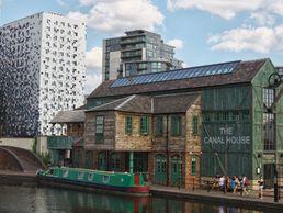 Le canal à Birmingham