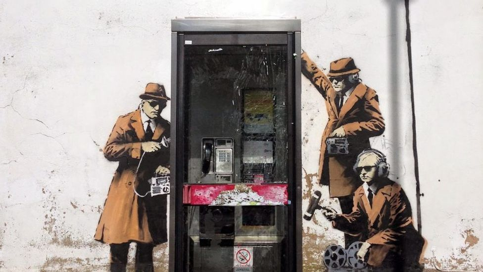 Banksy by Fragile, Josh Walls and Katie Bowers