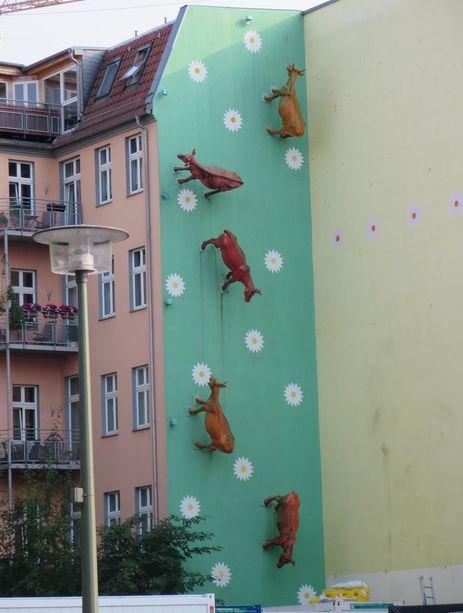 Mur aux vaches berlin