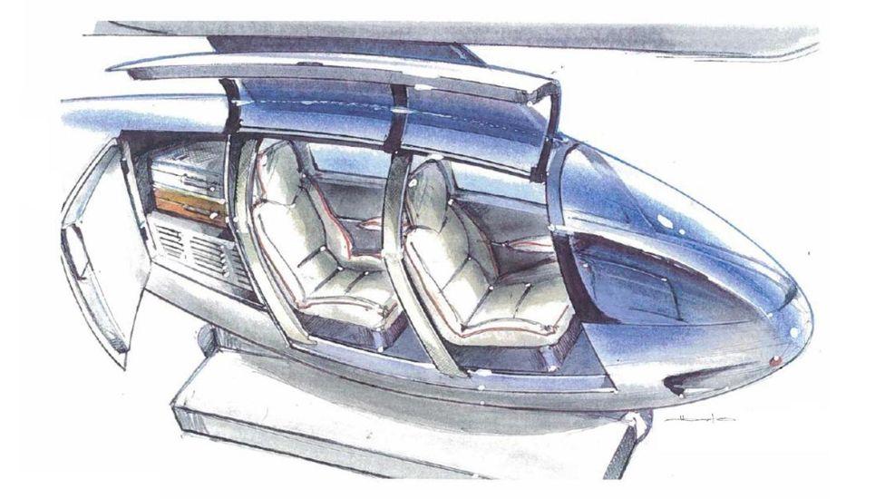 Design d'un véhicule type – Crédits photos : www.skytran.us